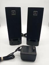 JBL Platinum Series Wired Computer Speakers 259139-001 Black Tested