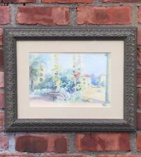 Charles Caryl Coleman Watercolor. Italian Landscape In Capri Italy. Signed C1910