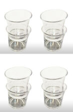 Christmas Tableware Shot Glass (Pack of 8) Crystal Dinner Party Accessories