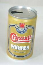 Crystall Wuhrer Beer Can