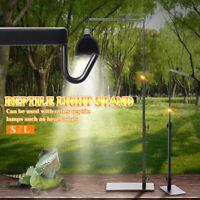 38~64cm Iron Bracket Light Stand Reptile Backlight Adjustable Lamp Holder Rack