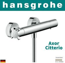 Hansgrohe Axor Citterio E 36160820 Thermostatic Shower Mixer Brushed Nickel NIB