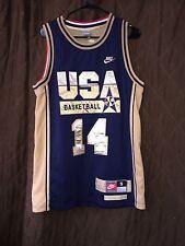 Rare! NBA Auth Nike Charles Barkley USA Olympic Basketball Jersey Men's SML