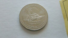 REGATE BOAT 50 YEARS COIN $2 NICKEL CERTIFICATE 1888 1938 1988 VALLEYFIELD