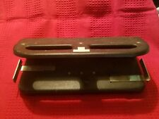 3 Hole 11 Adjustment Heavy Duty Paper Punch Used