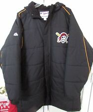 MLB Pittsburgh Pirates Large Hooded Jacket High Quality Majestic Wears like XL