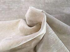 Zinc Textile Slubby Texture Velvet Upholstery Brilliance Moonbeam 3.5 yd Z253/01
