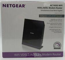 Netgear D6400 AC1600 VDSL/ADSL Dual-Band Gigabit WiFi Modem Router