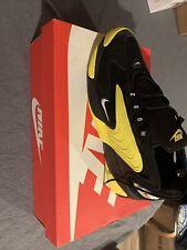 Nike Zoom 2K Black White Dynamic Yellow Men Lifestyle Shoes Size 11 sneakers