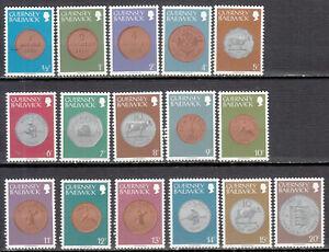 Guernsey - 1979 Coins Sc# 173/188 - MNH (7658)