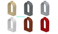 Lego Window 1 x 2 x 2 2/3 with Rounded Top Parts Pieces Lot ALL COLORS