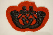 WW2 British Canadian Rifles Regiment Bugler Trade Badge 2