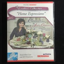 Bernina Embroidery Designs Card #802 Expressive Lace for Artista & Deco
