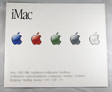 iMac Setup Installation Foldout Guide Apple Vintage 2000