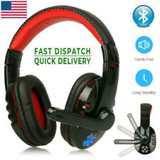 Wireless Gaming Headset with Mic Headphones Surround For PC Laptop NEW