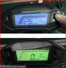 MOTO,digitale,CONTACHILOMETRI,km / H,& ,MPH,STREETFIGHTER,griglia,Trike,,
