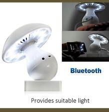 LED Bluetooth Night Light Speaker Touch Sensor Kids Table Bed Desk Lamp Decor