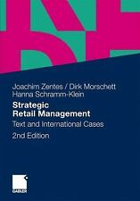Strategic Retail Management : Text and International Cases by Dirk....