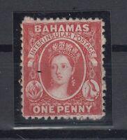 C2657/ BRITISH BAHAMAS – VICTORIA – SG # 21 MINT NO GUM – CV 150 $