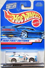 HOT WHEELS 1998 FIRST EDITIONS ESCORT RALLY #1/40 WHITE