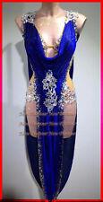 L3801 ballroom latin swing rumba samba chacha dance dress US 6