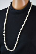 New Nordstrom Joe Fresh Womens Single-Strand Pearl Long Necklace Fashion Jewelry