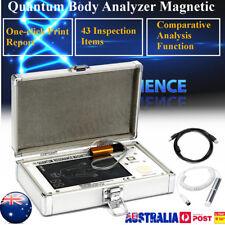 52 Reports Result Quantum Magnetic Resonance Body Analyzer 4TH English + Spanish
