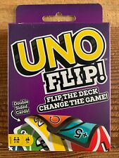 UNO Flip #1 Mattel Card Game Double Sided Wild Original Classic Party Friend New