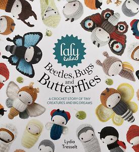 Beetles Bugs Butterflies Crochet Pattern Book Amigurumi