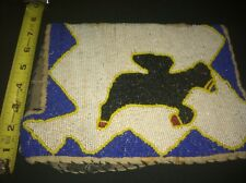 Vintage African Art, Rare, Flying Horse Beadwork,  Early, Unusual.  Must See