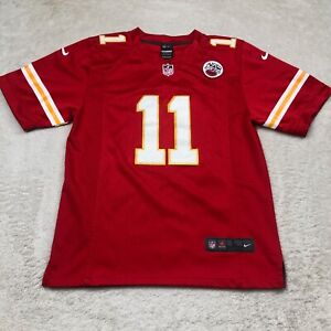Alex Smith Large Youth Kansas City Chiefs Home Jersey Red 11