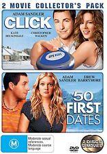 Click  / 50 First Dates (DVD, 2007, 2-Disc Set)