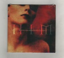HIM - WHEN LOVE AND DEATH ENBRACE  - CDS 4 TRACKS CARDBOARD - SIGILLATO