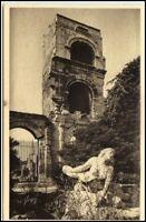 ARLES France CPA 1920 Théatres Antique Statue de Niobé, alte Postkarte