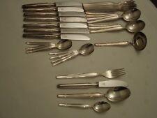 Schönes Silberbesteck 8  Personen 100er Silber wie neu