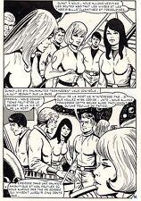 LE RIDEAU DE BRUME (ESPINOSA/CAROFF) PLANCHE PUBLIEE DANS ATOMOS 25 PAGE 95