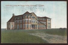 Postcard OKLAHOMA CITY OK  College for Young Ladies view 1907?