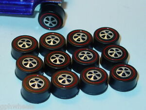 Hot Wheels Redline Red Line US WHEEL TIRE Lot of 12 LARGE Bearing Style -NEW!