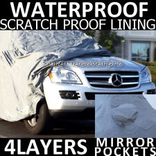 2011 MERCEDES-BENZ GL450 GL550 4LAYERS WATERPROOF CAR COVER w/M