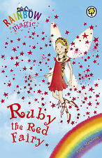 RUBY THE RED FAIRY Daisy Meadows #1 Paperback, Secondhand, Very Good Condition