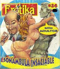 "DELMONICOS EROTIKA ""SONAMBULA INSACIABLE"" mexican comic SEXY GIRLS SPICY #26"