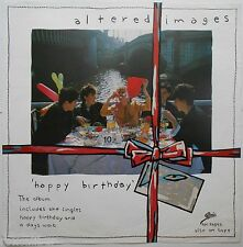 ALTERED IMAGES Happy Birthday Very Rare Orig Official UK Record Company POSTER