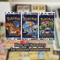 🔥 BASE SET RANDOM POKEMON CARDS LOT 🔥 Pokémon Original FIRST Set 1999 WOTC