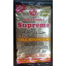 Supreme Henna Hair Dyes Powder with Amla Shikakai Natural choose your shade