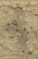 Eastern Virginia Richmond Fredericksburg Rappahannock River 1862 Civil War Map