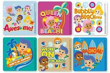 """14 Assorted Bubble Guppies Stickers, 2.5"""" x 2.5"""" each, Party Favors"""