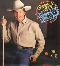 George Strait 1989 Beyond The Blue Neon Promo Poster Authentic Original