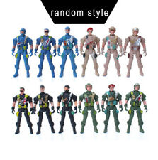 Random Military Plastic Toy Soldiers Army Men 9cm Figures & Accessories Toy Cute