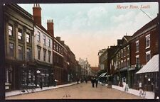More details for rp vintage postcard - lincs. #c10 - mercer row, louth - valentines