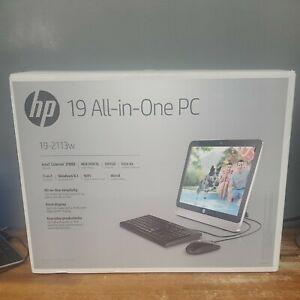 """HP 19-2113W Celeron J1800 2.41Ghz 19.5"""" 4G RAM 500GB HD WIN8.1 All-In-One PC NEW"""